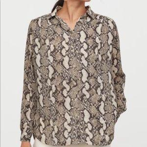 H&M long - sleeve blouse